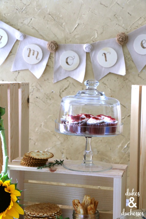 rustic italian bridal shower