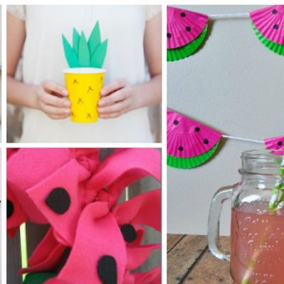 21 Fabulous Fruit Crafts for Summer