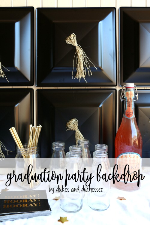 graduation party backdrop
