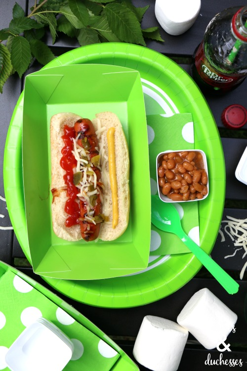 grilled hot dogs for summer cookout
