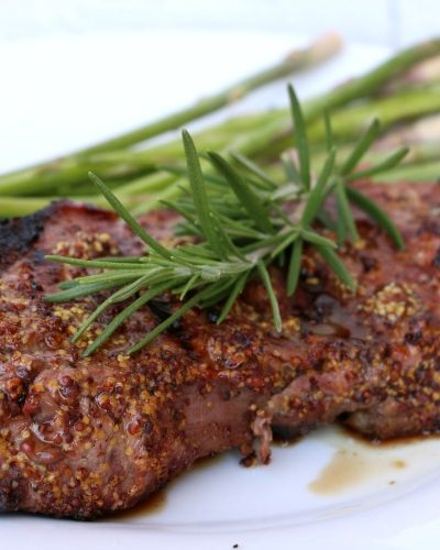 Two Ingredient Steak Marinade