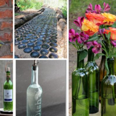 15 Ways to Repurpose Wine Bottles