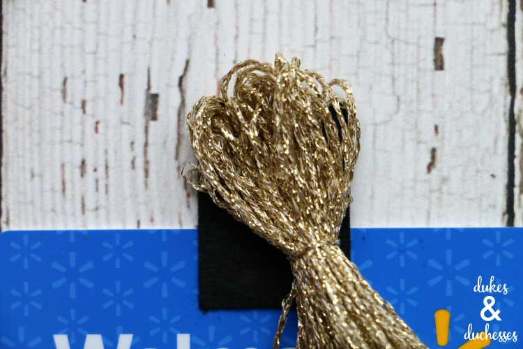 tassel on graduation cap gift card holder