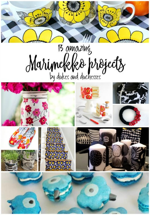 DIY marimekko projects