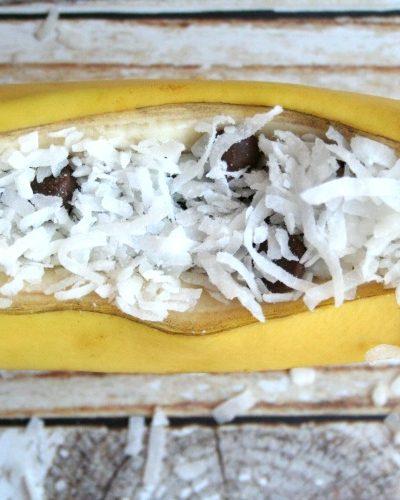 Grilled Samoa Bananas