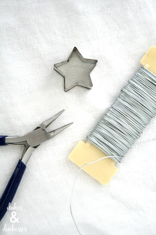 wire star toppers