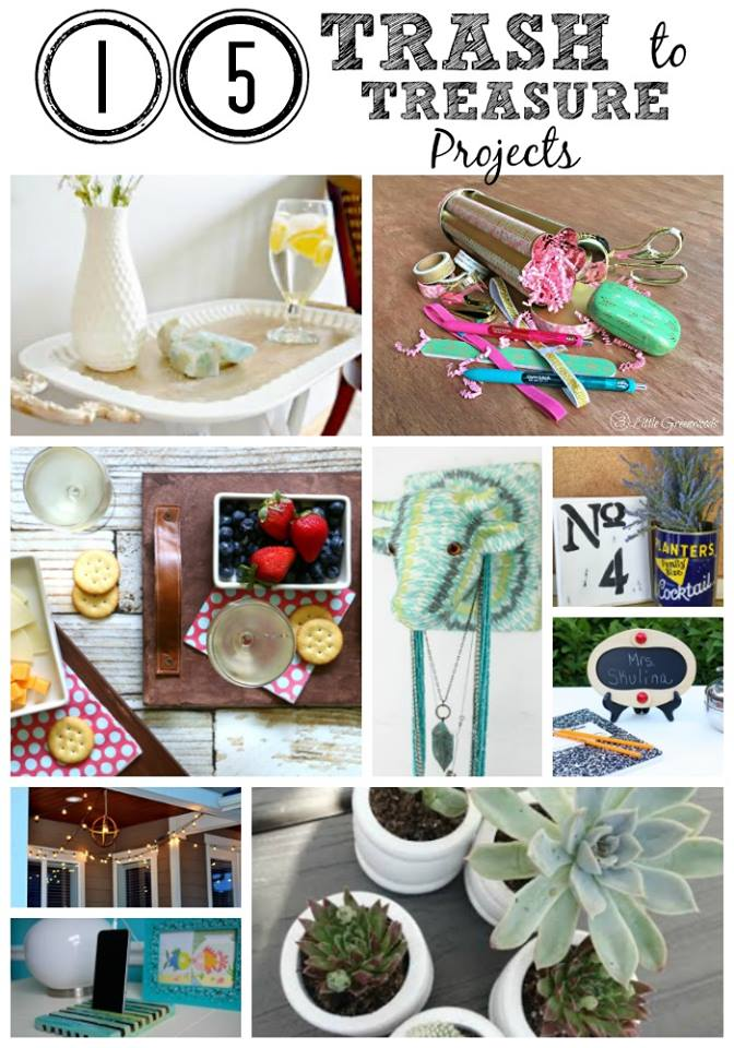 trash to treasure DIY projects