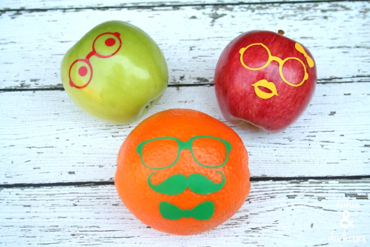 fruit face lunchbox ideas
