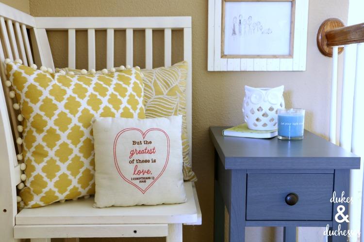 faith decor in the home