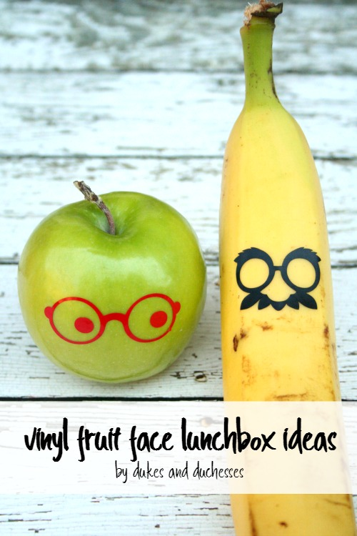 fruit face lunchbox ideas