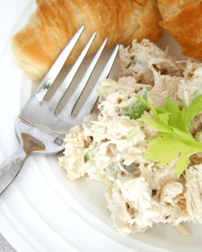 Crockpot Ranch Chicken Salad
