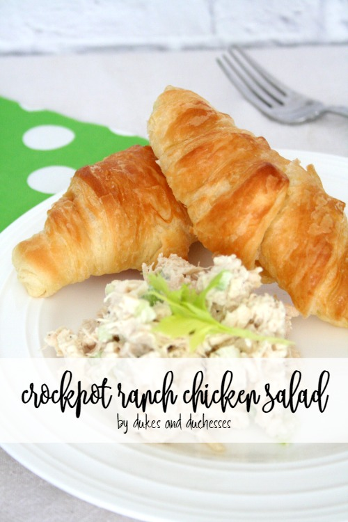 Crockpot Ranch Chicken Salad Dukes And Duchesses