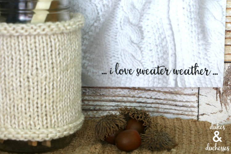 fall sweater weather printable