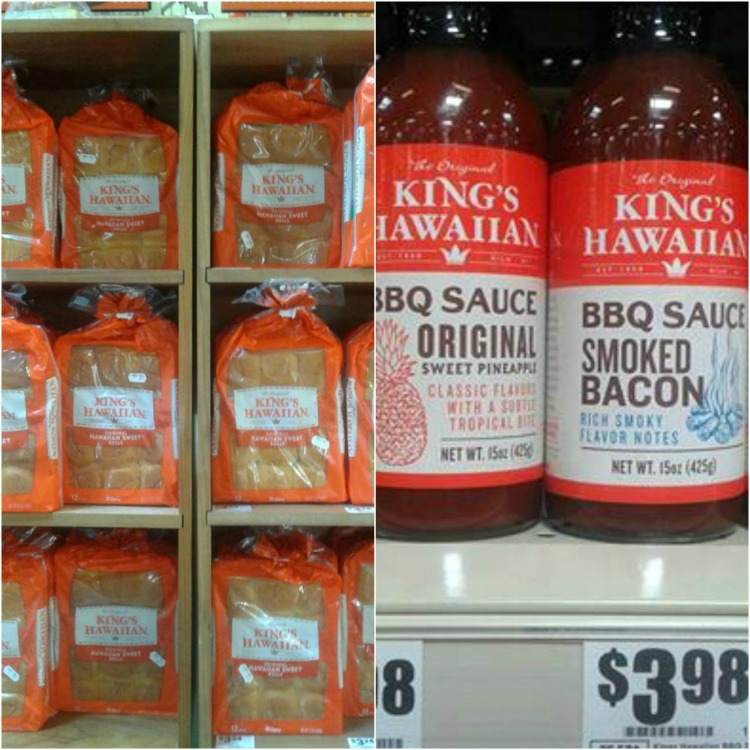 kings hawaiian rolls and sauce at HEB