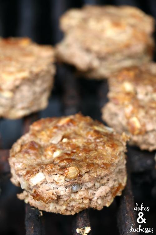 grilled meatloaf sliders