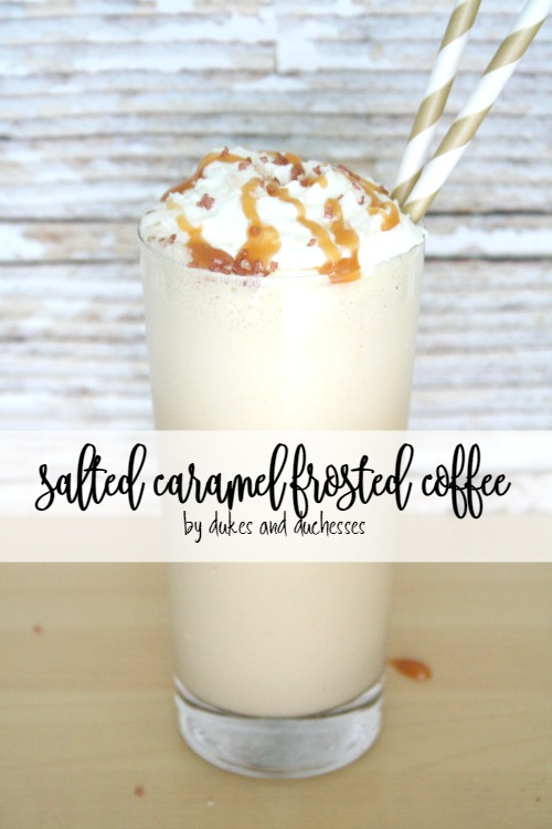 salted caramel frosted coffee recipe