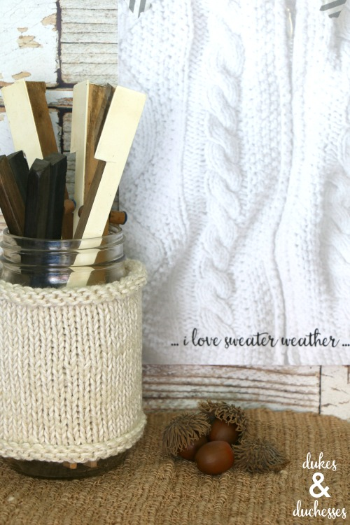 sweater weather printable for fall
