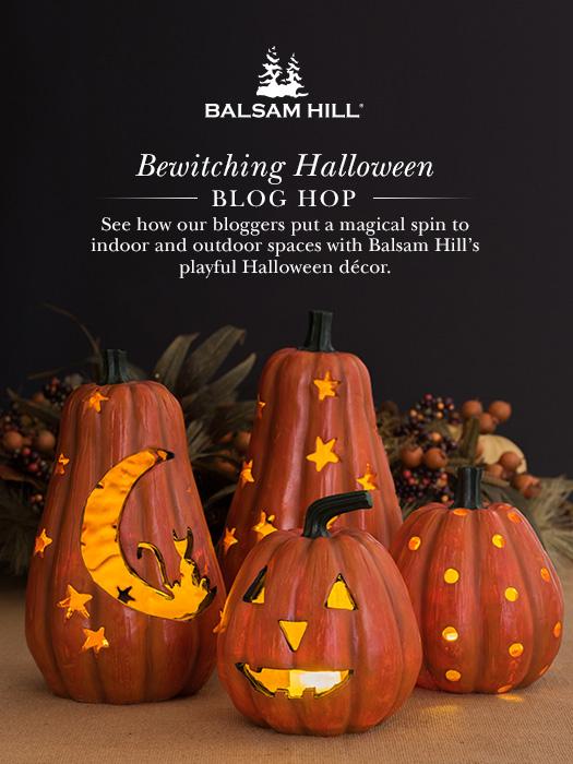 balsam hill halloween blog hop