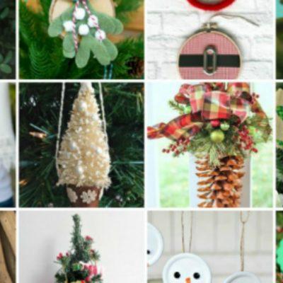 31 Handmade Christmas Ornaments