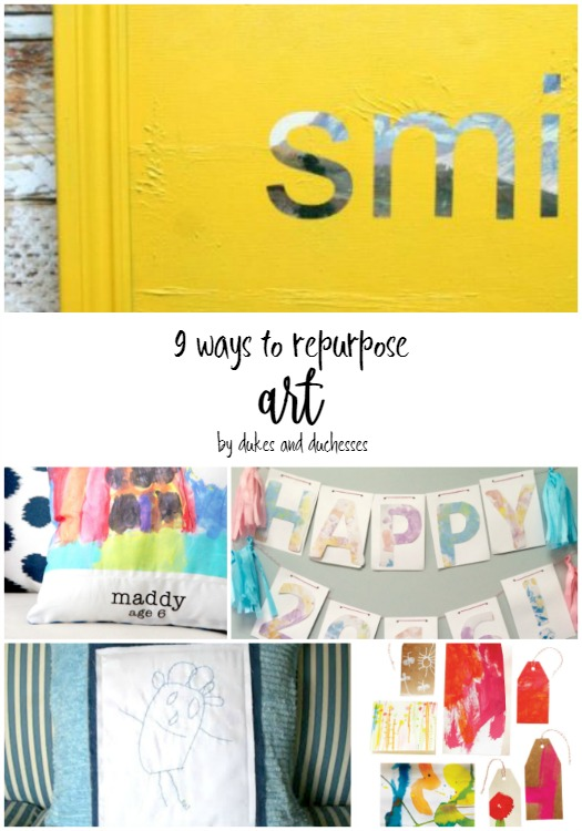 9 ways to repurpose art