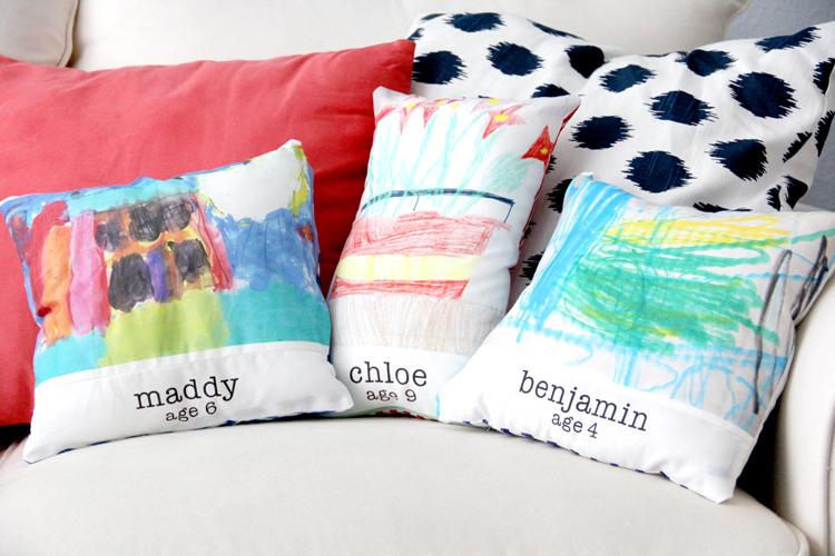 artwork fabric pillows