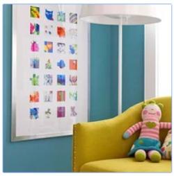 colorful artwork collage
