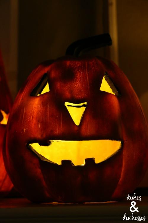 jack o'lantern halloween decoration