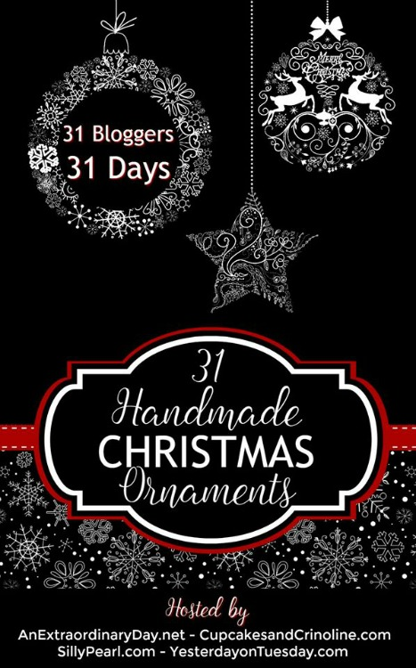 handmade christmas ornament blog hop