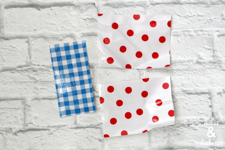 oilcloth pieces to make business card holder