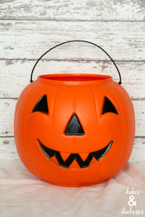 pumpkin bucket for care package