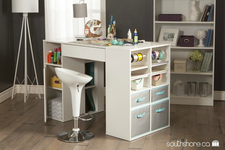 crafting desk with storage 7 craft storage solutions dukes and duchesses 4108