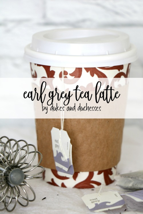 earl grey tea latte recipe