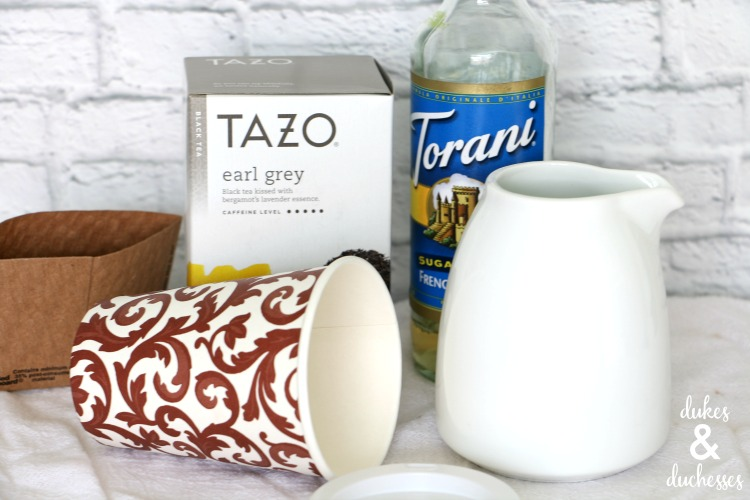 earl grey tea latte ingredients