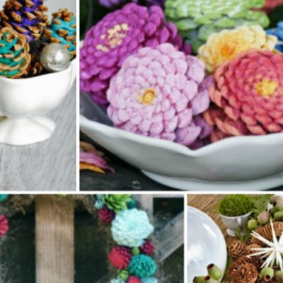 10 Ways to Repurpose Pinecones