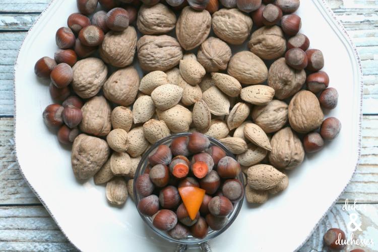 thanksgiving nut platter