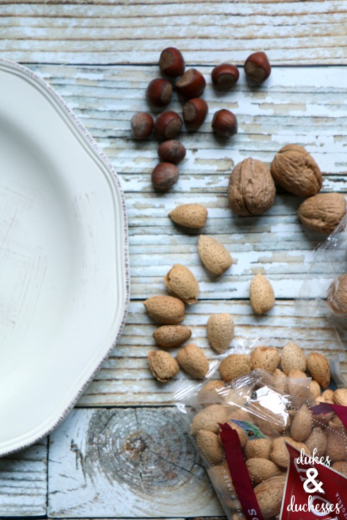 how to make a nut platter for thanksgiving