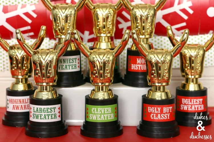 Christmas Party Award Ideas Part - 37: Ugly Sweater Awards Ideas 28
