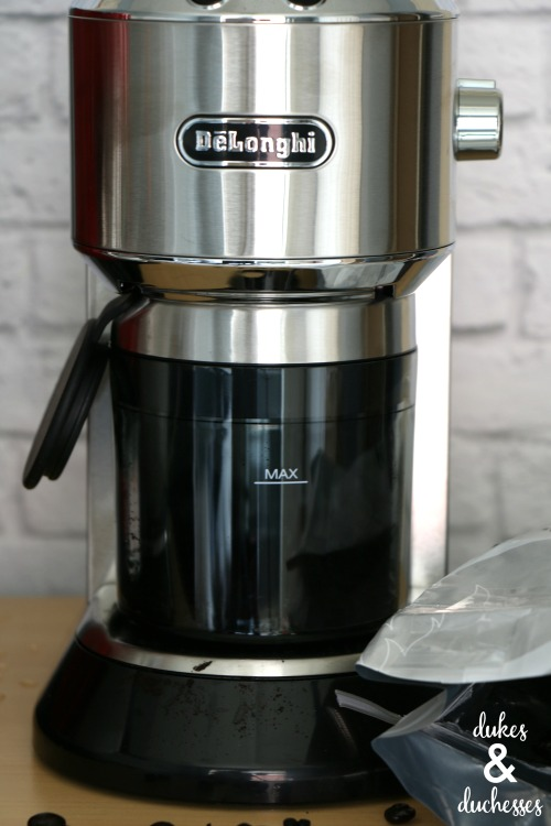 coffee grinder by delonghi