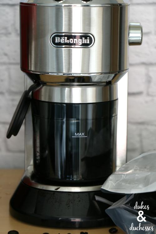 coffee grinder by delonghi