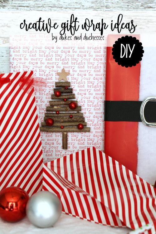 Creative Gift Wrap Ideas - Dukes and Duchesses