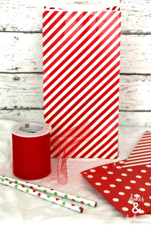gift bag gift wrap idea