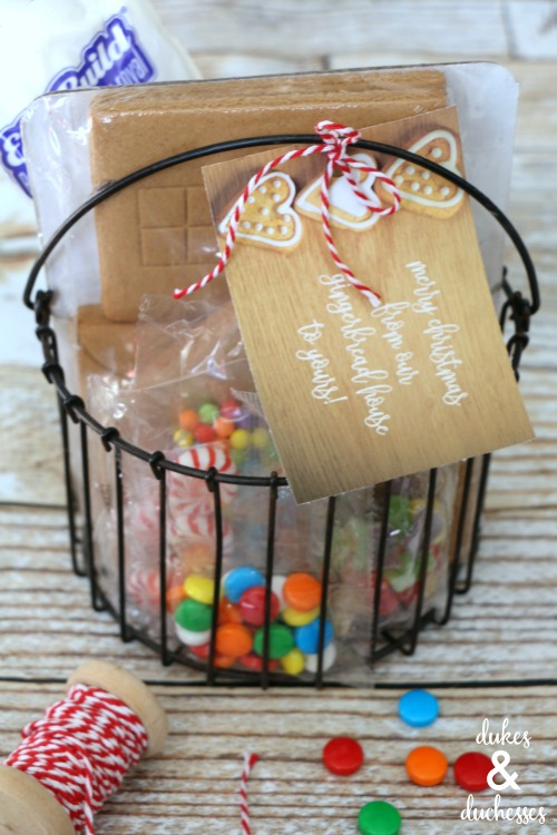 gingerbread house neighbor gift idea