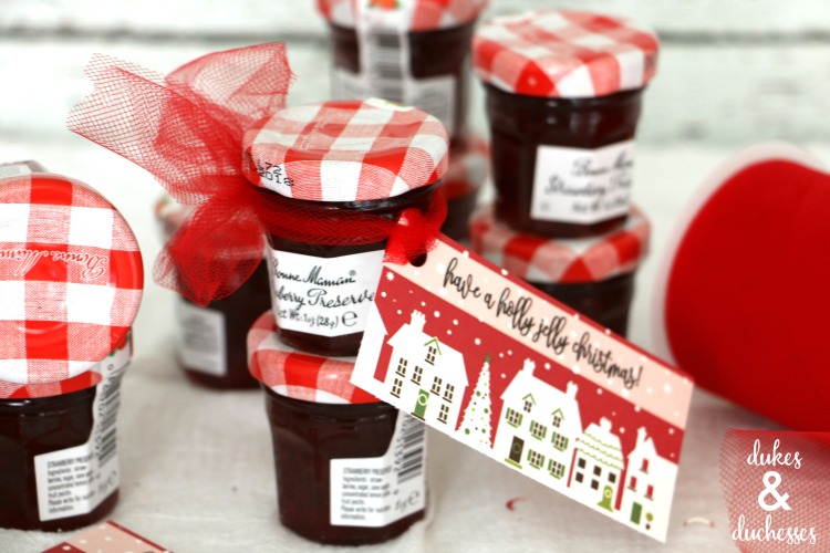 holly jolly jelly printable