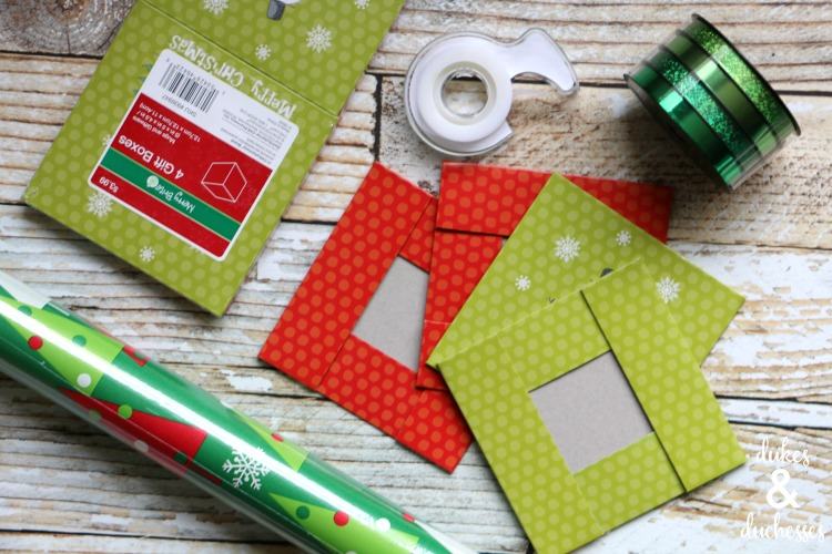 supplies for twelve days of christmas gift tree