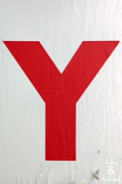 vinyl letters on christmas card holder