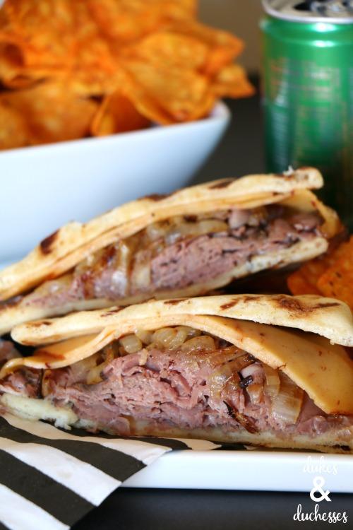 chipotle roast beef panini recipe