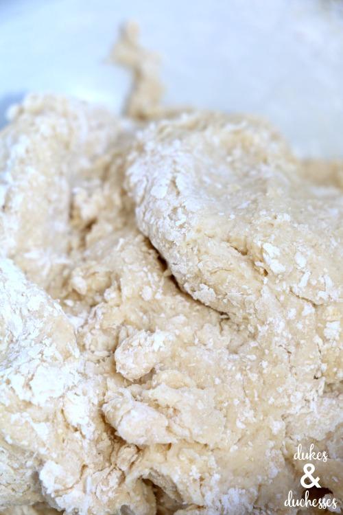 dog cookie dough