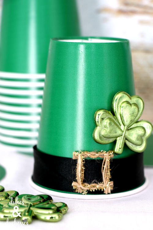 embellished leprechaun hat