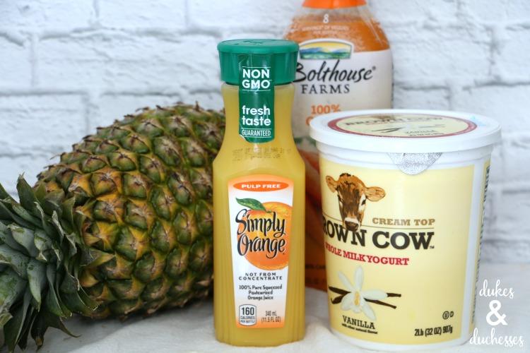extreme smoothie ingredients