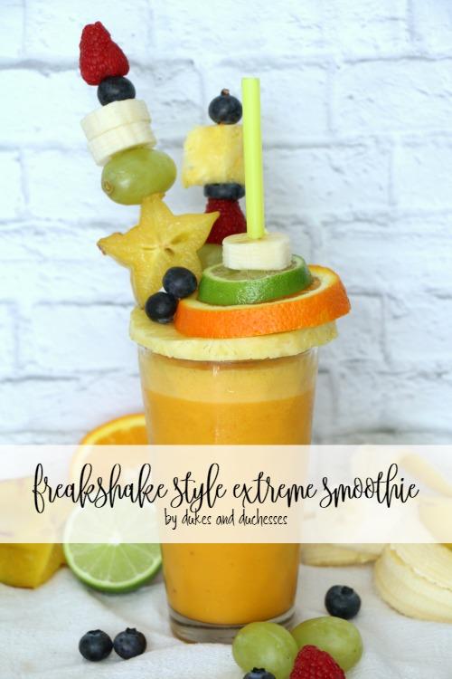 freakshake style extreme smoothie